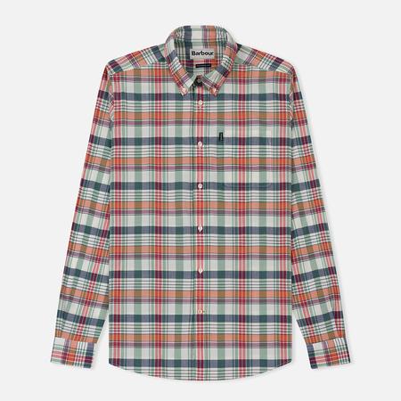 Мужская рубашка Barbour Madras Ecru