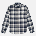 Мужская рубашка Barbour Mast Navy фото- 0