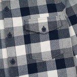 Barbour Mast Men's Shirt Navy photo- 2