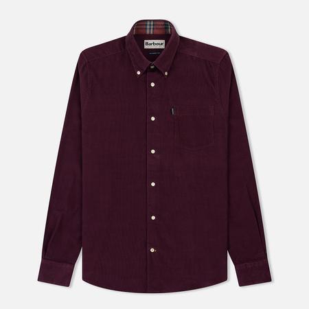 Мужская рубашка Barbour Morris Merlot