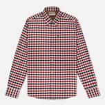 Мужская рубашка Barbour Moss Regular Fit Red фото- 0