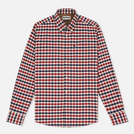 Barbour Moss Regular Fit Men's Shirt Red