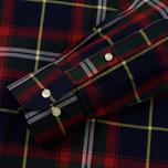 Мужская рубашка Barbour Oscar Navy фото- 3