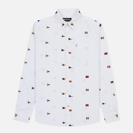 Мужская рубашка Barbour Oxford Flag White