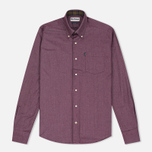 Barbour Oxford Men's Shirt Ruby photo- 0