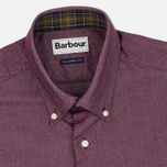 Barbour Oxford Men's Shirt Ruby photo- 1