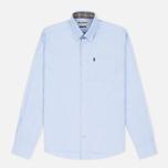 Мужская рубашка Barbour Oxford Sky Blue фото- 0