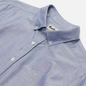 Мужская рубашка Barbour Oxford Tailored Fit Indigo фото - 1