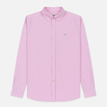 Мужская рубашка Barbour Oxford Tailored Fit Pink фото- 0