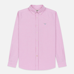 Мужская рубашка Barbour Oxford Tailored Fit Pink