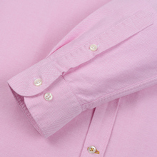 Мужская рубашка Barbour Oxford Tailored Fit Pink фото- 3