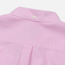 Мужская рубашка Barbour Oxford Tailored Fit Pink фото- 4