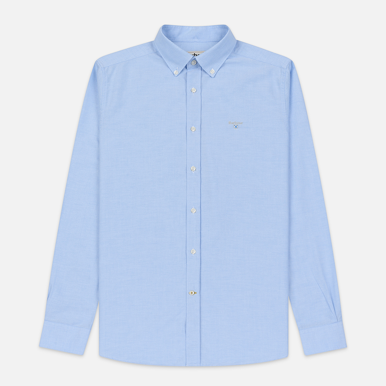 Мужская рубашка Barbour Oxford Tailored Fit Sky