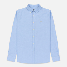 Мужская рубашка Barbour Oxford Tailored Fit Sky фото- 0