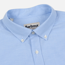 Мужская рубашка Barbour Oxford Tailored Fit Sky фото- 1