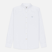 Мужская рубашка Barbour Oxford Tailored Fit White фото- 0
