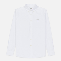 Мужская рубашка Barbour Oxford Tailored Fit White