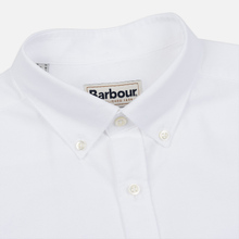 Мужская рубашка Barbour Oxford Tailored Fit White фото- 1