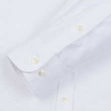 Мужская рубашка Barbour Oxford Tailored Fit White фото- 3