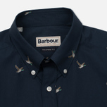Мужская рубашка Barbour Peter SS Navy фото- 1