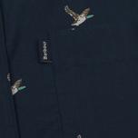 Мужская рубашка Barbour Peter SS Navy фото- 2