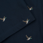 Мужская рубашка Barbour Peter SS Navy фото- 4