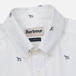Мужская рубашка Barbour Peter SS White фото- 1