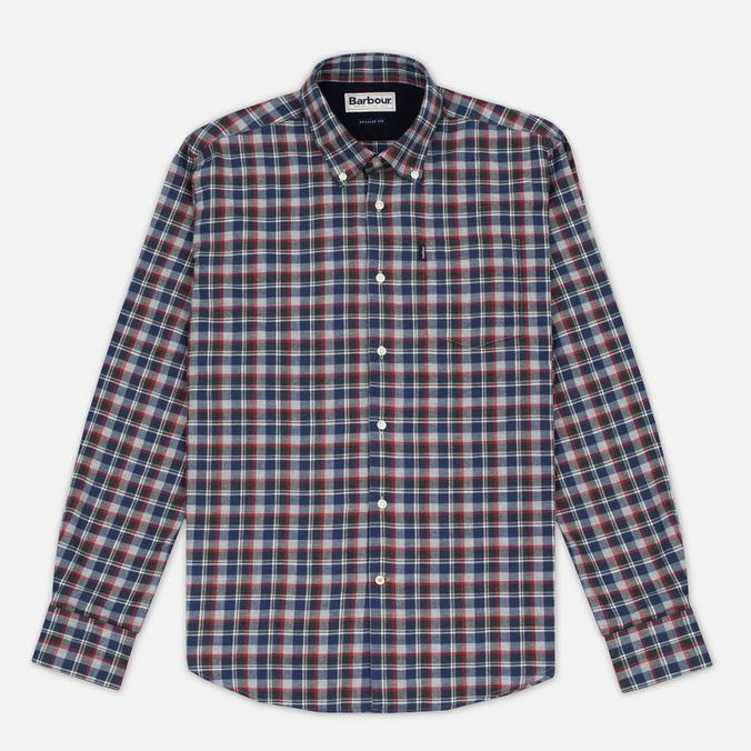 Мужская рубашка Barbour Rory Grey Marl