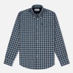 Мужская рубашка Barbour Rory Navy фото- 0
