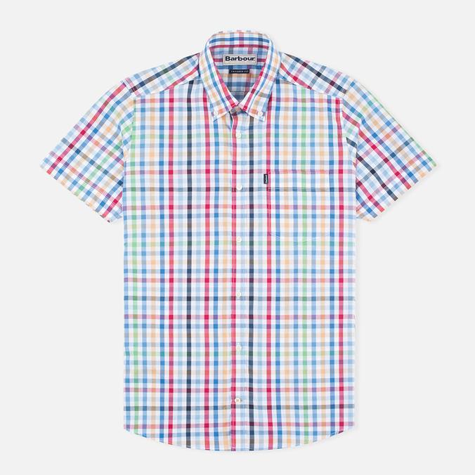 Мужская рубашка Barbour Russel SS Mustard