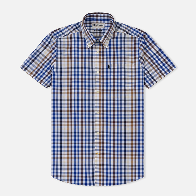 Мужская рубашка Barbour Russel Ss Sandstone
