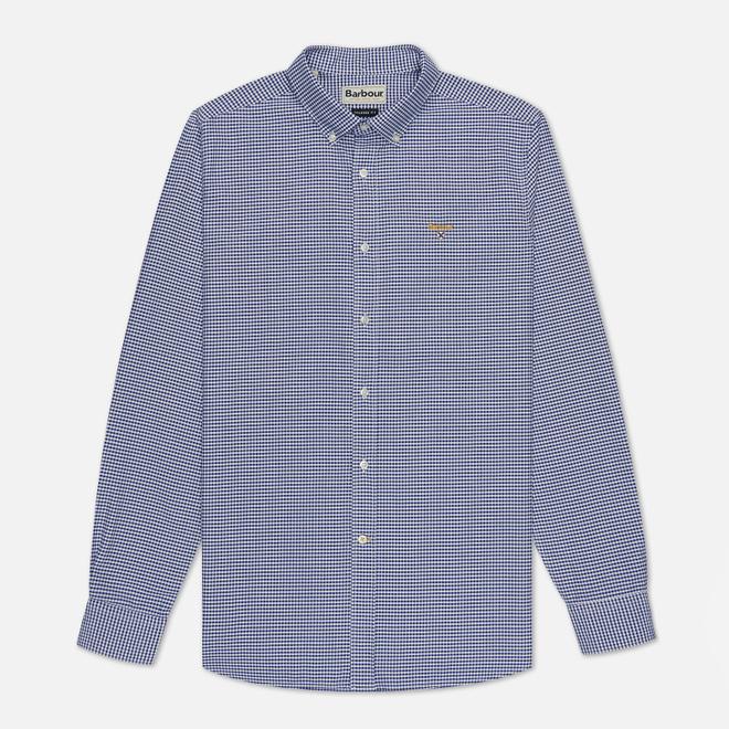 Мужская рубашка Barbour Saltire Gingham Navy