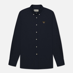 Мужская рубашка Barbour Saltire Stretch Poplin Navy