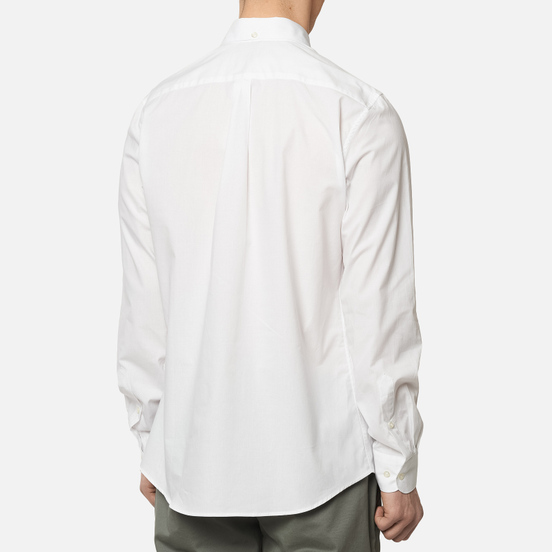 Мужская рубашка Barbour Saltire Stretch Poplin White