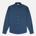 Мужская рубашка Barbour Sawyer Navy фото- 0