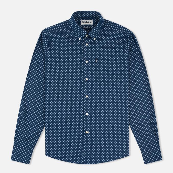 Мужская рубашка Barbour Sawyer Navy