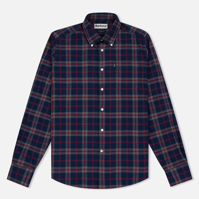 Мужская рубашка Barbour Seth Grey Marl
