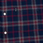 Мужская рубашка Barbour Seth Grey Marl фото- 2