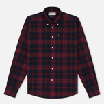 Barbour Seth Men's Shirt Rich Red photo- 0