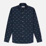 Мужская рубашка Barbour Springer Navy фото- 0