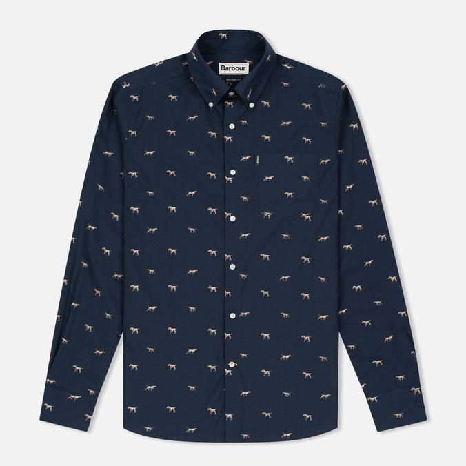 Мужская рубашка Barbour Springer Navy