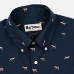 Barbour Springer Men's Shirt Navy photo- 1