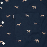 Мужская рубашка Barbour Springer Navy фото- 2