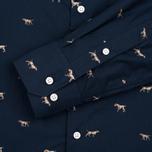 Мужская рубашка Barbour Springer Navy фото- 3