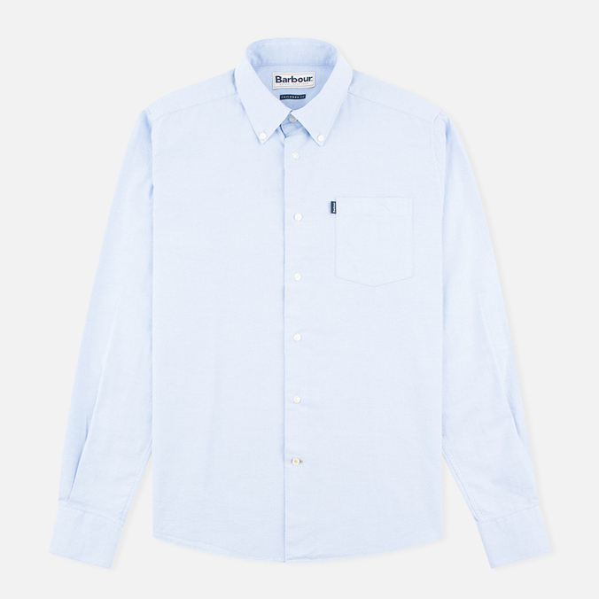 Barbour Stanley Men's Shirt Blue