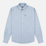 Barbour Stanley Chambray Men's Shirt Blue photo- 0