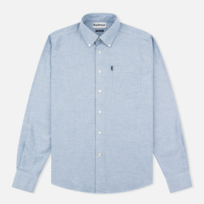 Мужская рубашка Barbour Stanley Chambray Blue