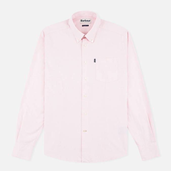 Barbour Stanley Men's Shirt Pink