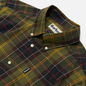 Мужская рубашка Barbour Tartan 7 Tailored Fit Classic Green фото - 1