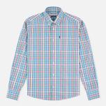 Мужская рубашка Barbour Terence Aqua фото- 0